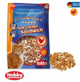 STARSNACK SOFT CHICKEN SANDWISH 85G