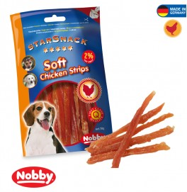STAR SNACK SOFT CHICKEN STRIPS 70G