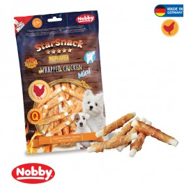 STARSNACK PUPPY & SMALL WRAPPED CHICKEN  113 G