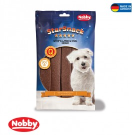 STARSNACK STRIPS LAMB AND RICE 200G