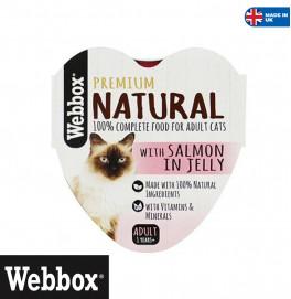 Webbox Salmon In Jelly 85gr