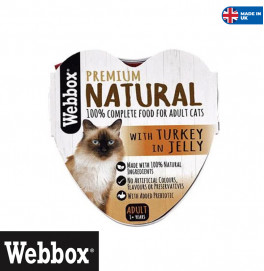 Webbox Turkey In Jelly 85gr