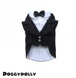 Black white tuxedo