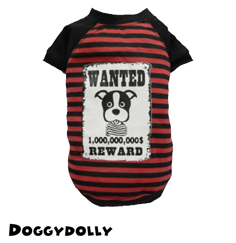 Wanted Red Shirt