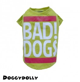 Bad Dogs Green Shirt