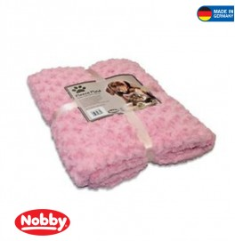 FLEECE PLAID SUPER SOFT PINK 100*150CM