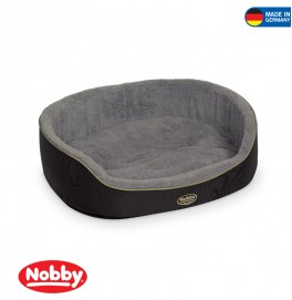COMFORT BED OVAL RINGAL ANTHRACITE 115*93*21CM