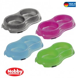 Plastic bowl tranparent  2 x 325 ml