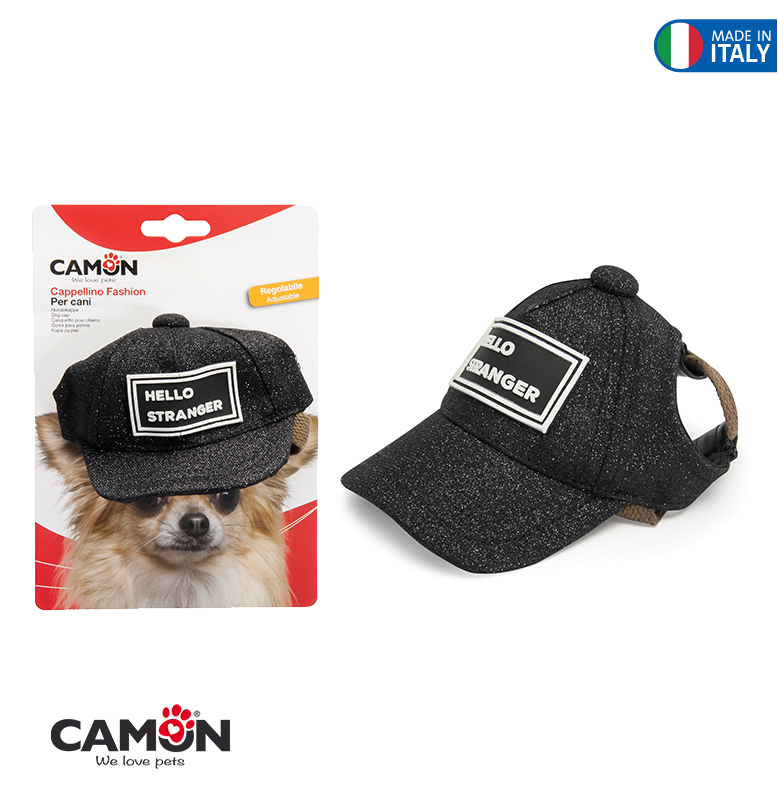 DOG CAP  HELLO STRANGER- LG