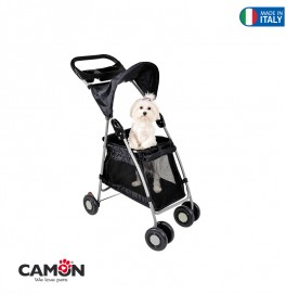 PET STROLLER-WALKN ROLL-BLACK