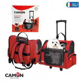 PET CARRIER-MAX-43X26X36 - RED
