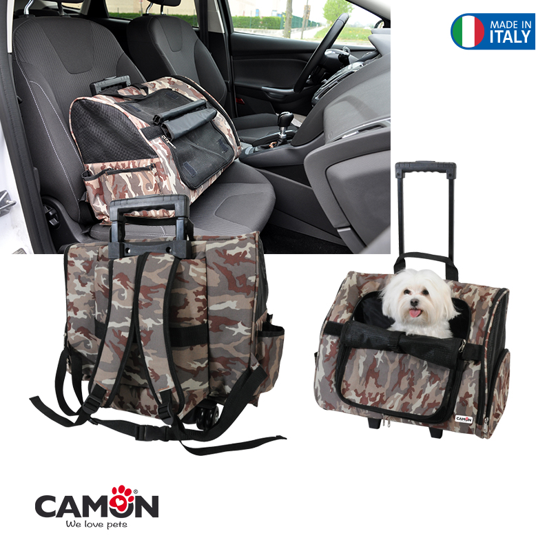 Per carrier-Max-43x26x36 Camouflage