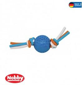 ball with silicon thread blue