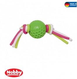 ball with silicon thread green