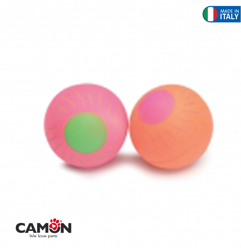 Floating toys (2pc)-RubberSponge- 55mm Sun