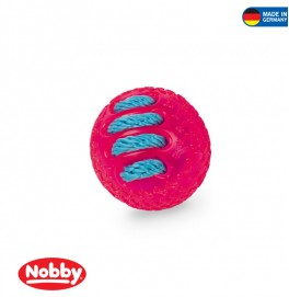 BALL WITH NYLON PINK 7CM
