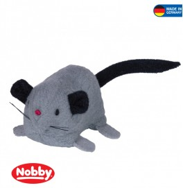 Plush Mouse with catnip 65 cm Grey