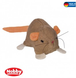 Plush Mouse with catnip 65 cm Light Brown
