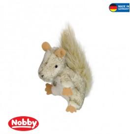 Plush suirrel with catnip 9 cm
