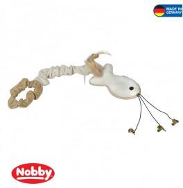 Plush fish with hand strap 41 cm mit Catnip