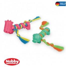 RUBBER PUPPY SET 9CM