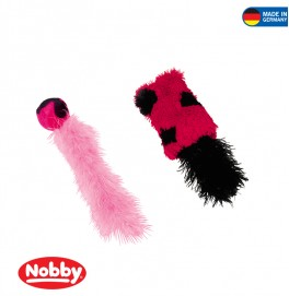 BALL WIH FEATHER 4cm