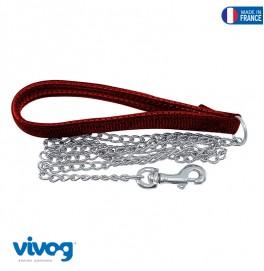 Chain Leash Comfort 34 CM Red