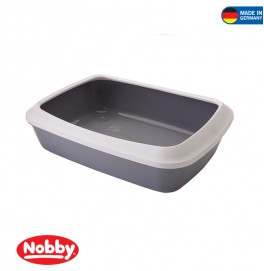 Cat toilet with edge  Iriz 50 x 36.5 x 11.5 cm