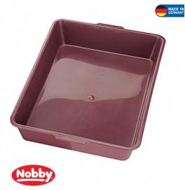 Cat toilet 44 x 31 x 8 cm Red