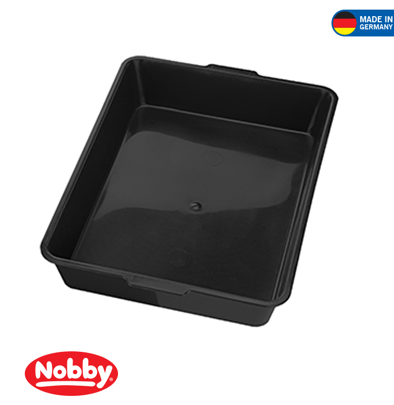 Cat toilet 44 x 31 x 8 cm Black