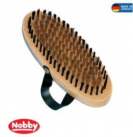 NATURE LINE POODLE BRUSH WITH WRIST TRAP